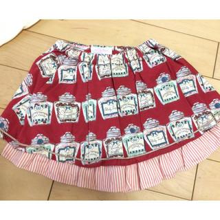 Shirley Temple - シャーリーテンプル キャンディポット スカートパンツ 130