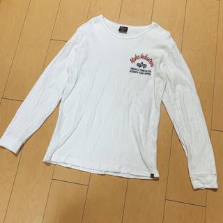 アルファ(alpha)のALPHA アルファ メンズ Tシャツ 長袖  (Tシャツ/カットソー(七分/長袖))