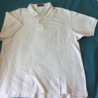 ポロシャツ メンズ 薄いピンク ELサイズ