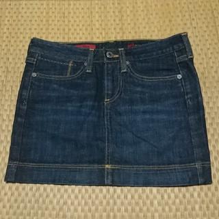 アドリアーノゴールドシュミット(ADRIANO GOLDSCHMIED)のAGのデニムスカート(ミニスカート)