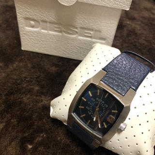 ディーゼル(DIESEL)のディーゼル 腕時計(レザーベルト)