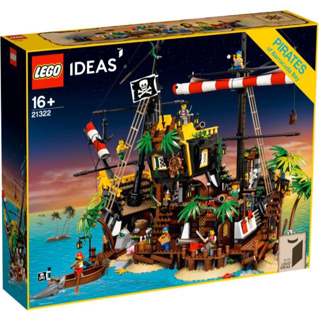 Lego(レゴ)の流通限定商品 レゴ LEGOアイデア 赤ひげ船長の海賊島 21322 ブロック エンタメ/ホビーのおもちゃ/ぬいぐるみ(模型/プラモデル)の商品写真