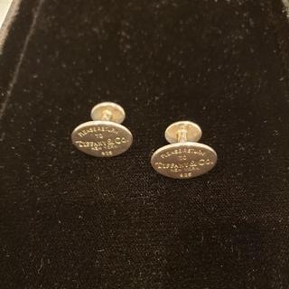 ティファニー(Tiffany & Co.)のTIFFANY men's  silver カフリンクス (カフリンクス)