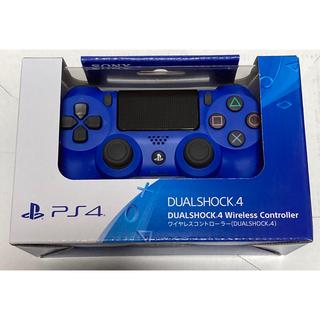 プレイステーション4(PlayStation4)のps4 ワイヤレスコントローラー ウェイブ・ブルー (CUH-ZCT2J12)(家庭用ゲーム機本体)