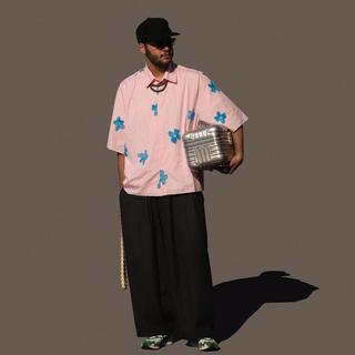 SUNSEA - Camiel Fortgens 20ss フラワーシャツ