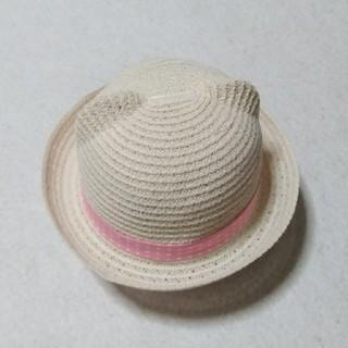 mikihouse - ミキハウス48㎝麦わら帽子