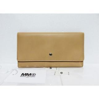 エムエムシックス(MM6)のMM6 Maison Margiela 三つ折り レザー ウォレット イタリア製(財布)