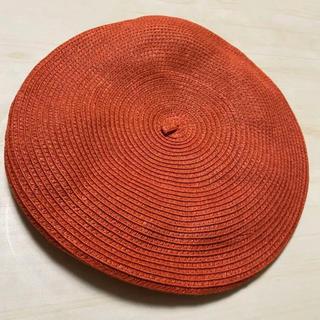 サマンサモスモス(SM2)のSamansa Mos2/サマンサモスモス@ペーパーブレードベレー帽(ハンチング/ベレー帽)