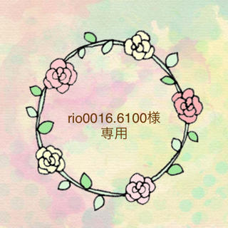 rio0016.6100様専用(その他)