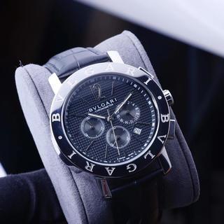 BVLGARI - 美品 人気 BVLGARI  メンズ 腕時計 42mm