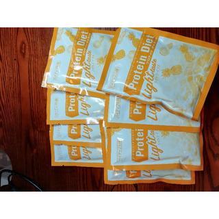 ディーエイチシー(DHC)のDHC プロテインダイエット パイナップル味 8袋 新品未開封  送料無料 (プロテイン)