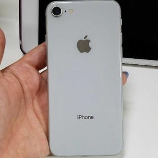 iphone8 64GB シルバー(スマートフォン本体)