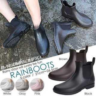 レインブーツ レディース ショートブーツ ウォーターシューズ(レインブーツ/長靴)