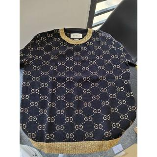 Gucci - 安室奈美恵さん着用★GUCCI★GGスプリーム 半袖セーター