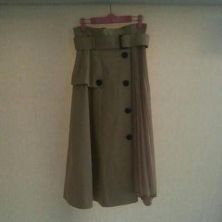 snidel - スナイデル トレンチプリーツスカート