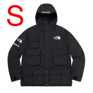 シュプリーム(Supreme)の【S】シュプリーム ノースフェイス Cargo Jacket Black 黒(マウンテンパーカー)