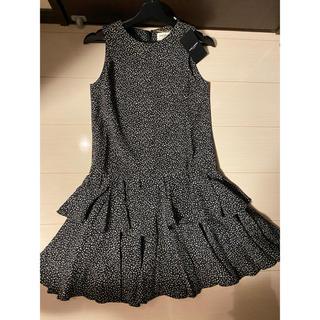 サンローラン(Saint Laurent)の新品タグ付き✨ サンローラン SaintLaurent ワンピース ドレス(ひざ丈ワンピース)