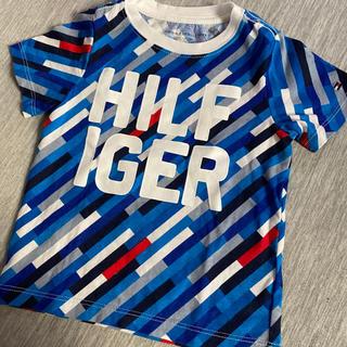 TOMMY HILFIGER - トミーヒルフィガー 18M ベビー Tシャツ キッズ ブルー 一度のみ使用