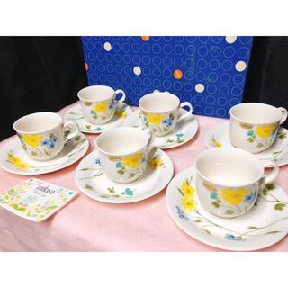 ミカサ(MIKASA)の未使用品 ミカサ コーヒーカップ&ソーサー 6客セット(グラス/カップ)
