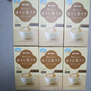 イトウエン(伊藤園)の伊藤園 ほうじ茶ラテ 6箱 計30本セット(茶)
