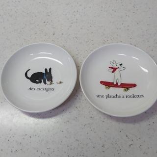 ニッコー(NIKKO)のリサとガスパール 小皿 2枚(食器)