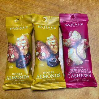 サハレスナック アーモンド&カシューナッツ 3袋(菓子/デザート)