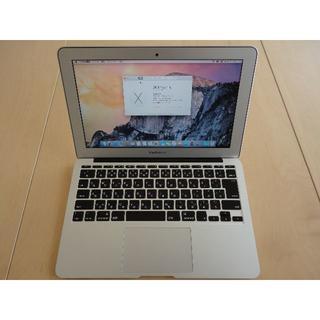 アップル(Apple)の訳ありApple MacBook Air 2013 11インチ Core i5(ノートPC)