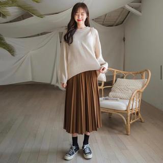 エンビールック(ENVYLOOK)のエンビールック スカート 黒(ひざ丈スカート)