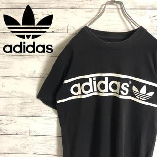 adidas - 【大人気】アディダスオリジナルス☆ビッグロゴ ブラック 半袖Tシャツ