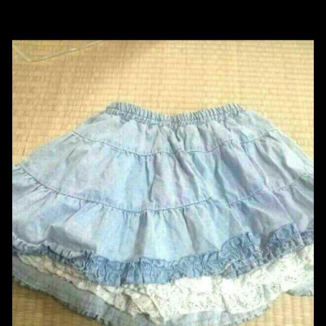 キュロットスカート レディースのパンツ(キュロット)の商品写真