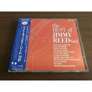 「ベスト・オブ・ジミー・リード Vol.2」日本盤 旧規格 税表記なし 帯付属(ブルース)