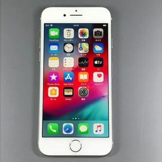 アイフォーン(iPhone)のiPhone8  64GB  シルバー  SIMフリー  バッテリー100%(スマートフォン本体)