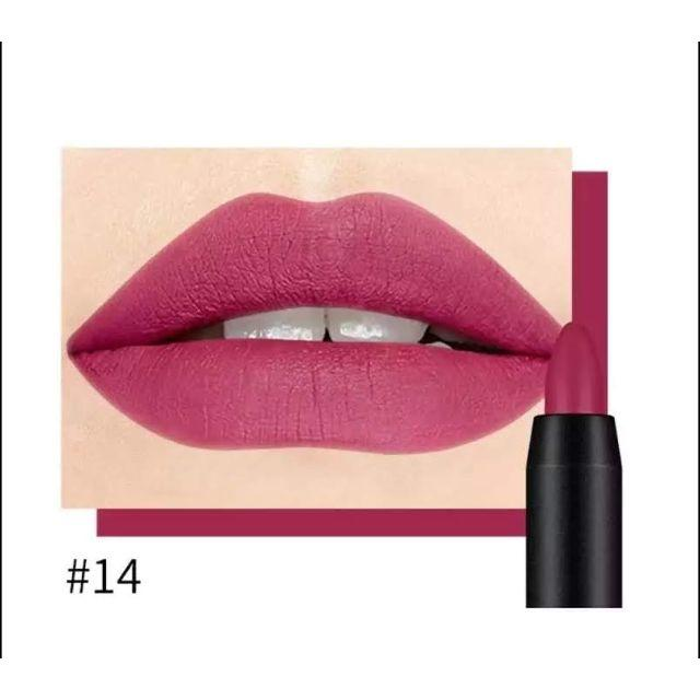 値下げ♪ISS MATTE SoftLipStickクレヨンリップ《14》 コスメ/美容のベースメイク/化粧品(口紅)の商品写真