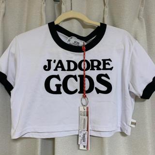 エムエスジイエム(MSGM)のGCDSのレディスTシャツ(Tシャツ(半袖/袖なし))
