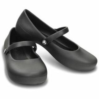 クロックス(crocs)のクロックス アリス フラット GS キッズ 20cm ブラック(サンダル)