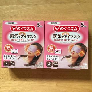 花王 - ☆花王☆めぐりズム 蒸気でホットアイマスク 無香料 10枚