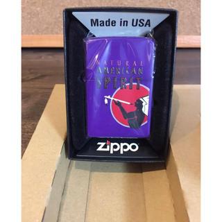 ジッポー(ZIPPO)の吉永ひろし様 専用 アメスピ 非売品 希少Zippo パープル(タバコグッズ)