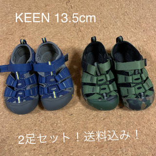 キーン(KEEN)のKEEN サンダル 2足セット 13.5cm 美品(サンダル)