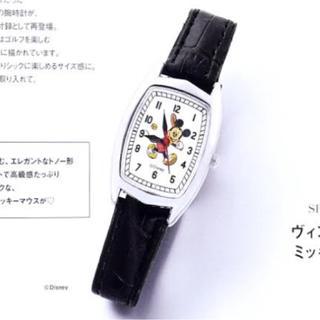 ディズニー(Disney)のミッキーマウスビンテージ調腕時計(腕時計)