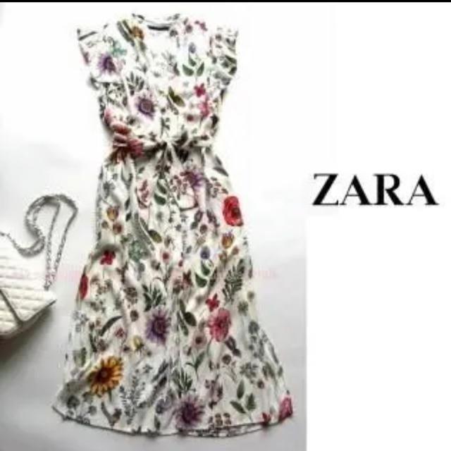 ZARA(ザラ)のZARA★ワンピース ★ロング レディースのワンピース(ロングワンピース/マキシワンピース)の商品写真