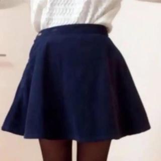 アメリカンアパレル(American Apparel)のAmerican Apparel フレア コーデュロイ スカート(ミニスカート)
