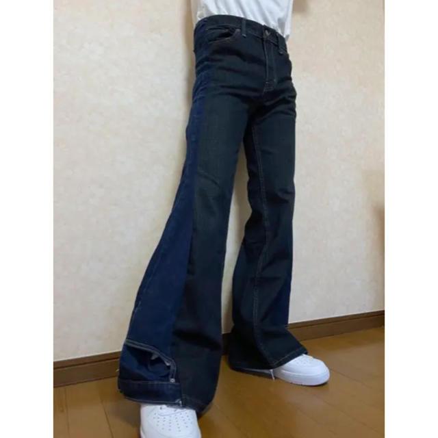 Levi's(リーバイス)のlevi's 再構築 フレアデニム メンズのパンツ(デニム/ジーンズ)の商品写真