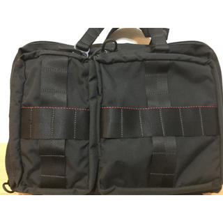 BRIEFING - 美品 BRIEFING BEAMS 別注 CRAZY 3WAY BAG タグ付黒