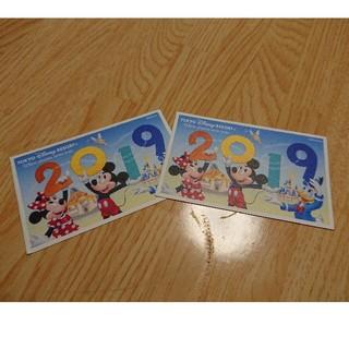 ディズニー(Disney)のディズニーランド ディズニーシー 1dayペアチケット(遊園地/テーマパーク)