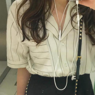 moussy - moussy♡ストライプシャツ