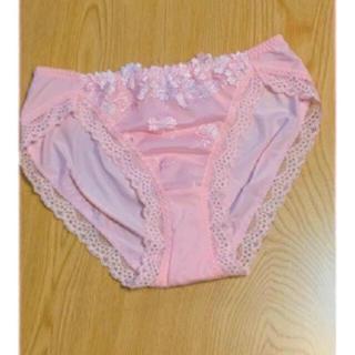 Wacoal - 未使用 ワコール 花柄 刺繍 レース ショーツ Mサイズ ピンク