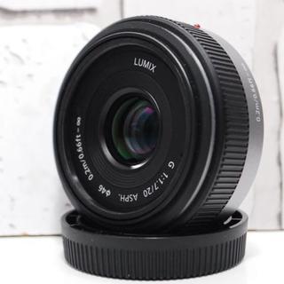 パナソニック(Panasonic)の★超美品★LUMIX G 20mm F1.7 ASPH.(レンズ(単焦点))