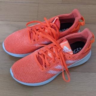 adidas - adidas ランニングシューズ スニーカー オレンジ 25.5cm