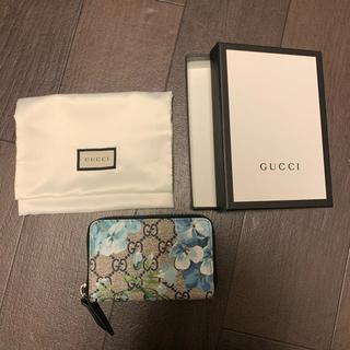 グッチ(Gucci)のGUCCI グッチ 花柄 ブルームス カードケース コインケース(コインケース/小銭入れ)