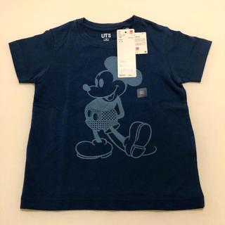 UNIQLO - SALE☆新品☆ ユニクロ ミッキー Tシャツ 半袖 100